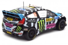 FORD Fiesta RS WRC Rally Catalunya 2014 K. Block / A. Gelsomino - Ixo Escala 1:18 (18RMC017)