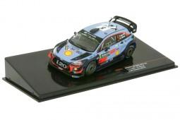 HYUNDAI i20 WRC Rally Sweden T. Neuville / N. Gilsoul - Ixo Models Scale 1:43 (RAM673)