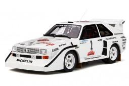 AUDI Sport Quattro S1 Rally Olympus 1985 H. Mikkola - OttoMobile Escala 1:18 (OT757)