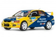 MITSUBISHI Lancer Evo IX Rally International Janner 2013 S. Blomqvist / R. Jakobsson - Vitesse Escala 1:43 (43255)
