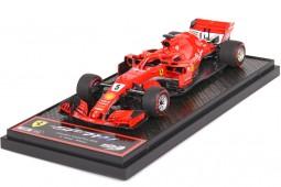 FERRARI SF71-H Winner GP Formula 1 Canada 2018 S. Vettel - BBR Models Scale 1:43 (BBRC215A)
