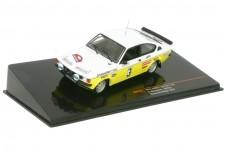 OPEL Kadett GT/E Gr.1 Rally Hunsrueck 1978 A. Warmbold / W. Pitz - Ixo Models Escala 1:43 (RAC263)