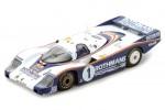 PORSCHE 956 Ganador Le Mans 1982 J. Ickx / D. Bell - Spark Escala 1:43 (43LM82)