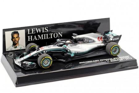MERCEDES-AMG W09 F1 World Champion 2018 Lewis Hamilton - Minichamps Scale 1:43 (410180044)