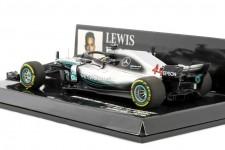 MERCEDES-AMG W09 F1 World Champion 2018 Lewis Hamilton - Minichamps Scale 1:43 (41018044)