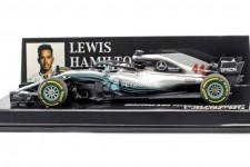 MERCEDES-AMG W09 Campeon del Mundo F1 2018 Lewis Hamilton - Minichamps Escala 1:43 (41018044)