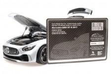 MERCEDES-Benz AMG GT R 2017 Plata - Almost Real Escala 1:18 (ALM820702)