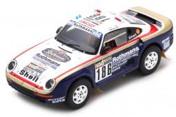 PORSCHE 959 Winner Rally Dakar 1986 R. Metge / D. Lemoine - Spark Scale 1:43 (s7815)