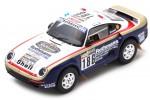 PORSCHE 959 Ganador Rally Dakar 1986 R. Metge / D. Lemoine - Spark Escala 1:43 (s7815)
