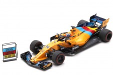 McLaren MCL33 GP F1 Abu Dhabi 2018 Ultima Carrera Fernando Alonso - Spark Escala 1:43 (s6069)