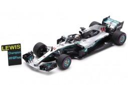 MERCEDES-AMG W09 Campeon del Mundo F1 Ganador GP Mexico 2018 L. Hamilton - Spark Escala 1:43 (s6067)