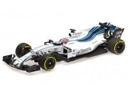 WILLIAMS FW40 Formula 1 Test Abu Dhabi 2017 R. Kubica - Minichamps Scale 1:43 (417172040)