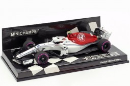 SAUBER C37 Formula 1 GP Azerbaijan 2018 C. Leclerc - Spark Models Escala 1:43 (417180416)
