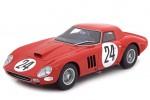 FERRARI 250 GTO No.24 24h Le Mans 1964 L. Bianchi / J. Blaton - CMR Escala 1:18 (CMR078)