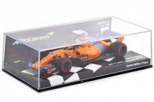 McLaren MCL33 Ultima Carrera F1 GP Abu Dhabi 2018 Fernando Alonso - Minichamps Escala 1:43 (537186414)