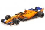 McLaren MCL33 Formula 1 Test Abu Dhabi 2018 Carlos Sainz Jr - Minichamps Escala 1:43 (537186455)