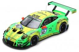 PORSCHE 911 (991) GT3 R Ganador 24h Nurburgring 2018 Lietz / Pilet / Makowiecki / Tandy - Spark Escala 1:18 (18SG027)
