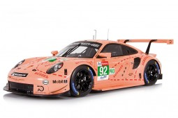 PORSCHE 911 (991) RSR Ganador LMGTE-Pro 24h Le Mans 2018 Christiensen / Estre / Vanthoor - Spark Escala 1:18 (18s393)