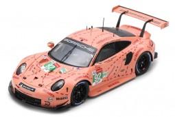 PORSCHE 911 (991) RSR Ganador LMGTE-Pro 24h Le Mans 2018 Christiensen / Estre / Vanthoor - Spark Escala 1:43 (s7033)