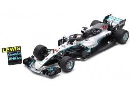 MERCEDES-AMG W09 Campeon del Mundo F1 2018 GP Mexico L. Hamilton - Spark Escala (18s355)