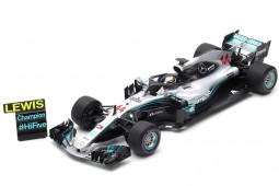 MERCEDES-AMG W09 F1 World Champion 2018 GP Mexico L. Hamilton - Spark Scale (18s355)