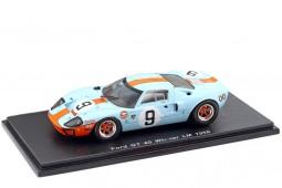 FORD GT 40 Gulf Ganador 24h LeMans 1968 P. Rodriguez / L. Bianchi - Spark Escala 1:43 (43LM68)