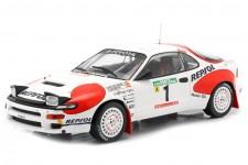 TOYOTA Celica GT-4 (ST185) Rally Portugal 1992 C. Sainz / L. Moya - Ixo Models Escala 1:18 (18RMC023A)