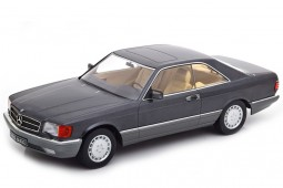 MERCEDES-Benz 560 SEC C126 1985 Antracita - KK-Scale Escala 1:18 (KKDC180331)