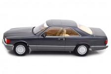 MERCEDES-Benz 560 SEC C126 1985 Antracita - KK-Scale Escala 1:18 (KKDC180331)