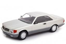 MERCEDES-Benz 560 SEC C126 1985 Plata - KK-Scale Escala 1:18 (KKDC180332)