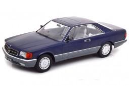 MERCEDES-Benz 560 SEC C126 1985 Blue Metallic - KK-Scale Scale 1:18 (KKDC180333)