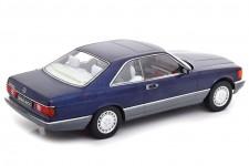 MERCEDES-Benz 560 SEC C126 1985 Azul Metalico - KK-Scale Escala 1:18 (KKDC180333)