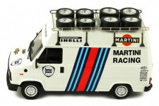 FIAT Ducato Asistencia Martini Lancia Rally 1984 - Ixo Models Escala 1:43 (CLC306R)