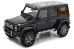 MERCEDES-Benz G-Class 4x4 2015 Negro - Almost Real Escala 1:18 (ALM820202)