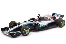 MERCEDES-AMG W09 Campeon del Mundo F1 2018 Lewis Hamilton - Minichamps Escala 1:18 (110180044)