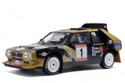 LANCIA Delta S4 Winner Rally Asturias 1986 F. Tabaton / L. Tedeschini - Solido Scale 1:18 (S1800810)