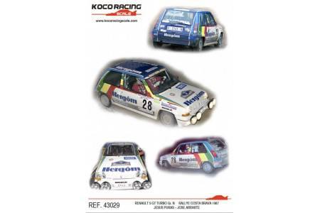RENAULT 5 GT Turbo - nº28 Gr. N Rallye Costa Brava 1987 - Jesus Puras / Jose Arrarte
