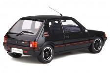 PEGUEOT 205 GTI Gutmann 1988 Negro - OttoMobile Escala 1:18 (OT796)