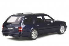 MERCEDES-Benz S124 AMG E36 Ph3 1995 Azul Oscuro - OttoMobile Escala 1:18  (OT753)