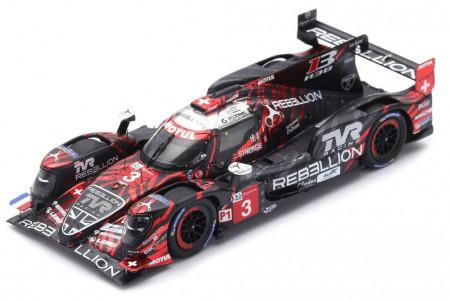 REBELLION R13 Gibson 3rd 24h Le Mans 2018 Laurent / Beche / Menezes - Spark Escala 1:43 (s7002)