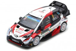 TOYOTA Yaris WRC Rally Monte Carlo 2019 K. Meeke / S. Marshall - Spark Scale 1:43 (s5976)