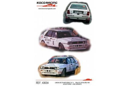 LANCIA DELTA Integrale - nº8 Gr. A Rallye Catalunya 1991 - Jesus Puras / Jose Arrarte