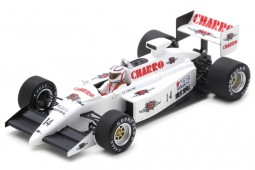 AGS JH22 GP Formula 1 San Marino 1987 Pascal Fabre - Spark Escala 1:43 (s7220)