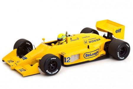 LOTUS 99T Winner GP F1 Monaco 1987 Ayrton Senna - Minichamps Scale 1:18 (540871892)