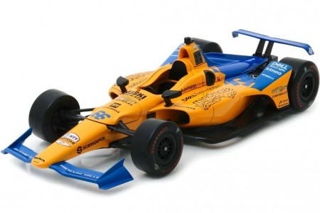 McLaren Racing Chevrolet Indy Car 2019 Fernando Alonso - Greenlight Escala 1:18 (GL11061)
