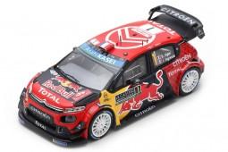 CITROEN C3 WRC Ganador Rally Monte Carlo 2019 S. Ogier / J. Ingrassia - Spark Escala 1:43 (s5974)