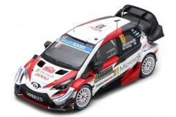 TOYOTA Yaris WRC Rally Monte Carlo 2019 J.M. Latvala / M. Anttila - Spark Escala 1:43 (s5977)