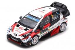 TOYOTA Yaris WRC 3rd Rally Monte Carlo 2019 O. Tanak / M. Jarveoja - Spark Scale 1:43 (s5978)
