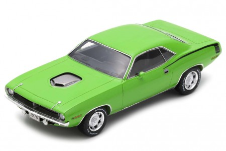 PLYMOUTH Hemi Cuda 1970 Verde - Spark Models Escala 1:43 (s3615)