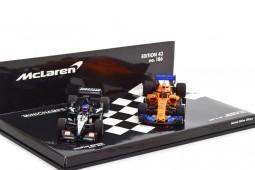 Set McLaren MCL33 2018 / Mianrdi PS01 2001 F. Alonso 300th GP Canada - Minichamps Escala 1:43 (412180114)